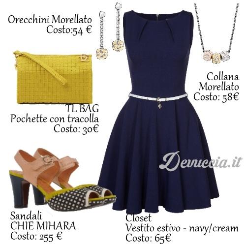 Fashion Style con scarpe in Stampa Vichy e gioielli Morellato