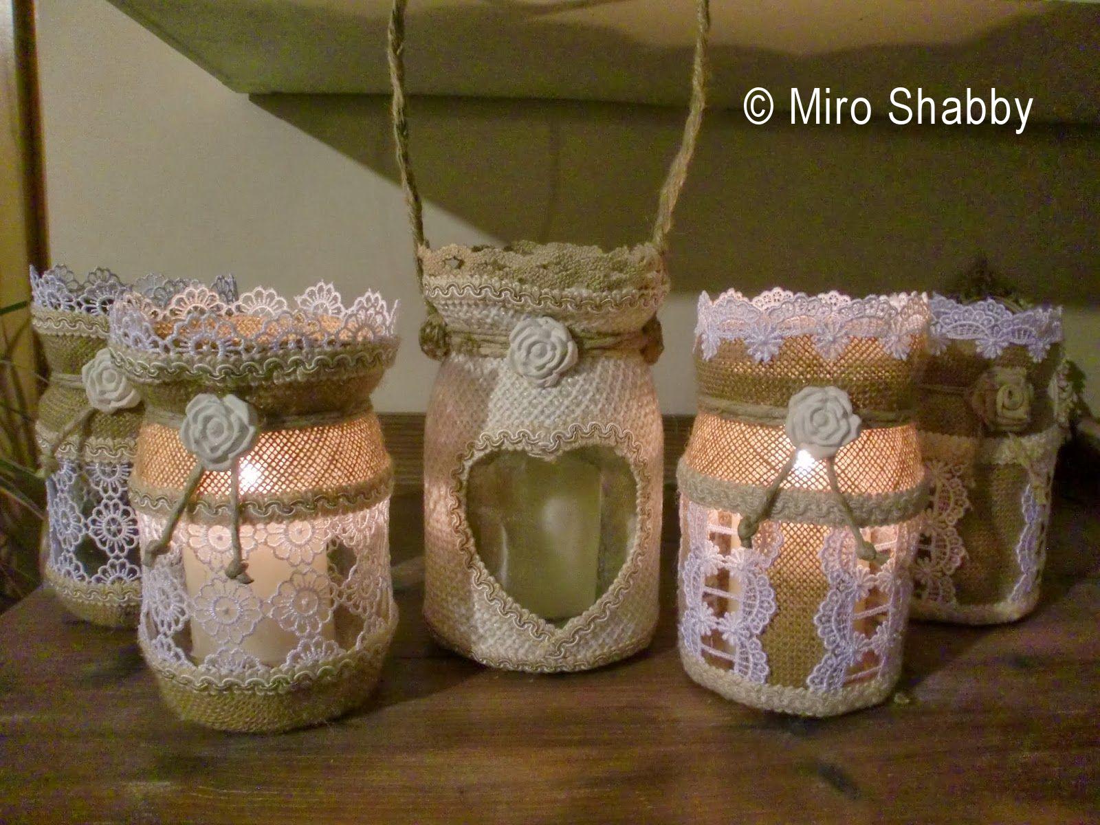 Lanterne Da Giardino Fai Da Te : Lanterne fai da te devuccia