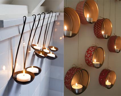 Lanterne fai da te la vie en rose - Lanterne portacandele ...