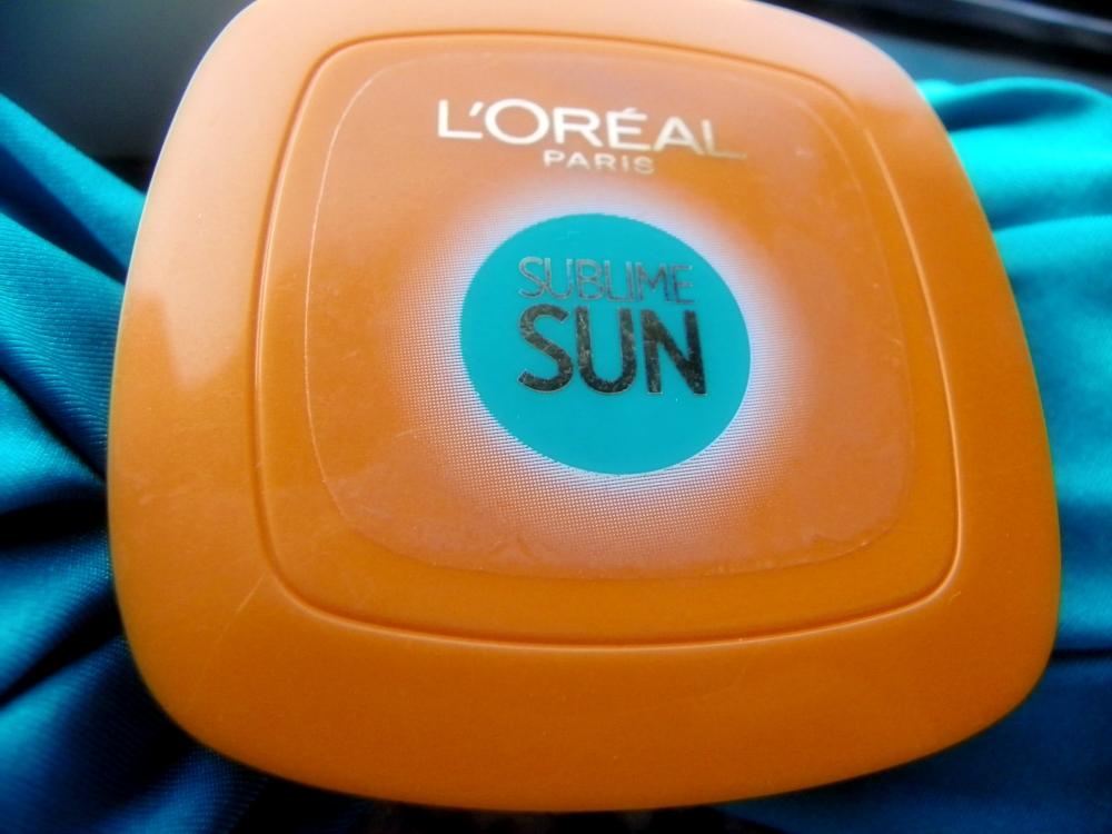 fondotinta solare compatto L'Oreal Sublime Sun