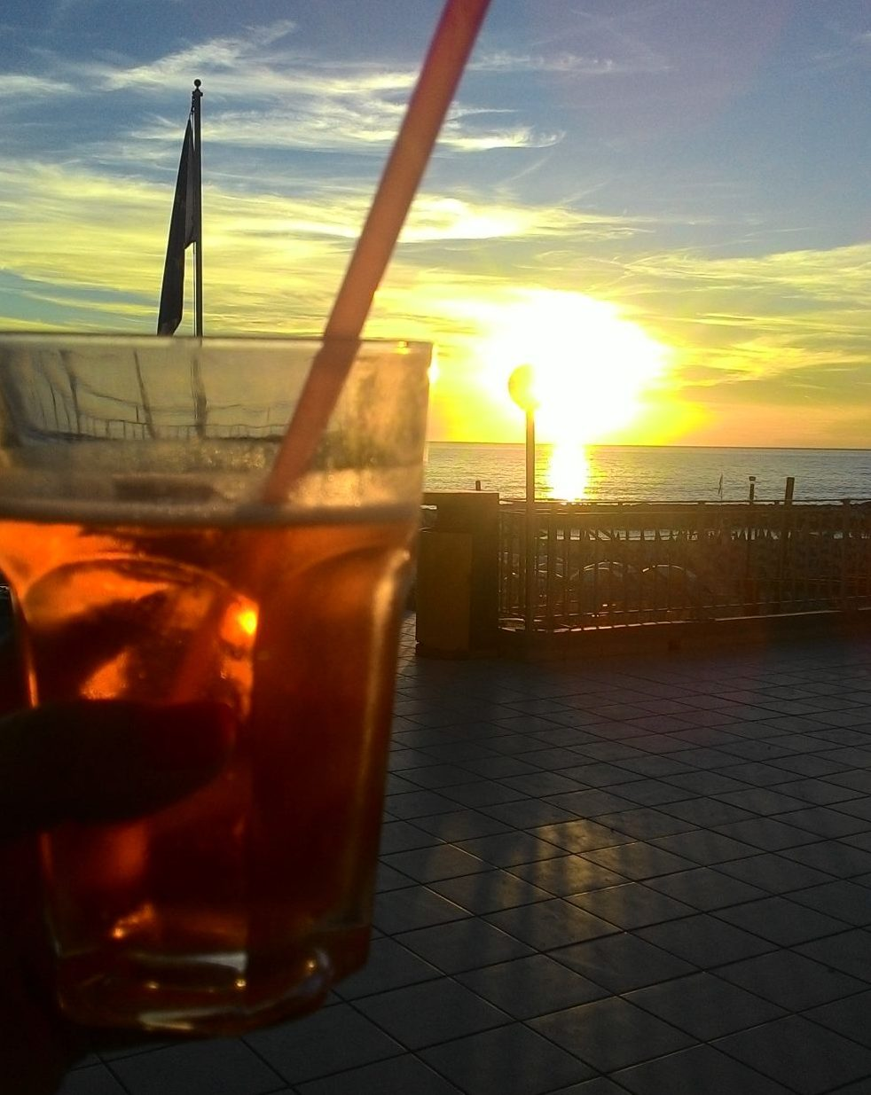 Drink al tramonto