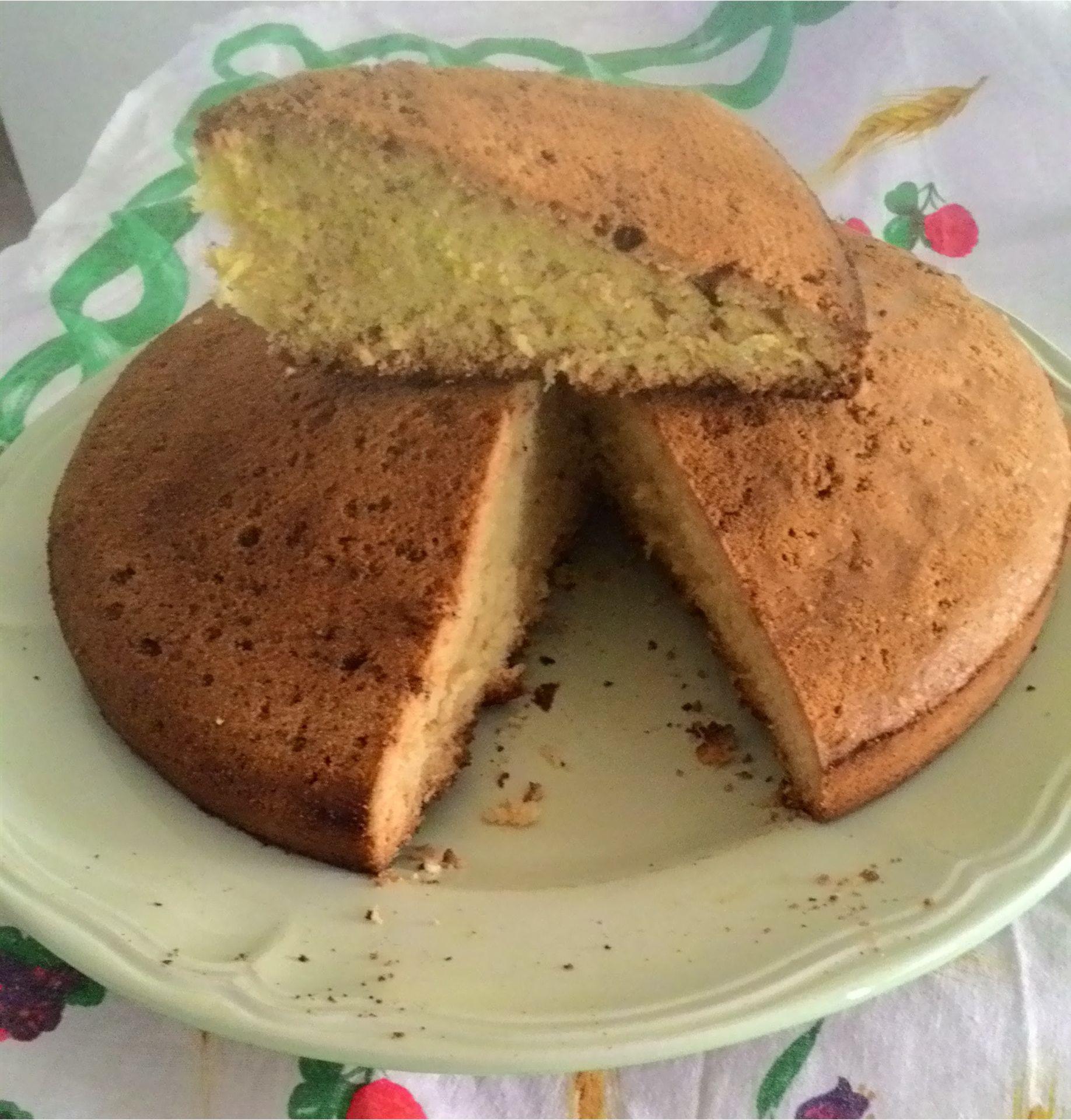 torta senza burro e lievito