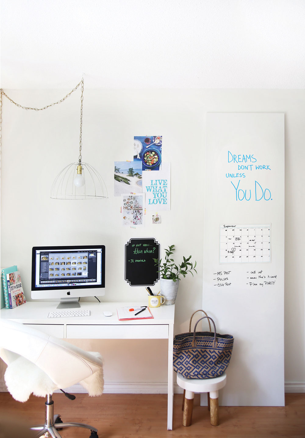 L'ufficio perfetto di una Blogger