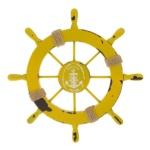 decorazione timone giallo